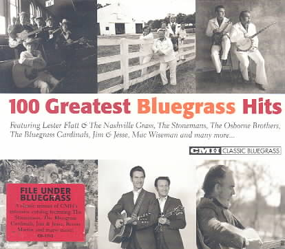 100 GREATEST BLUEGRASS HITS (CD)