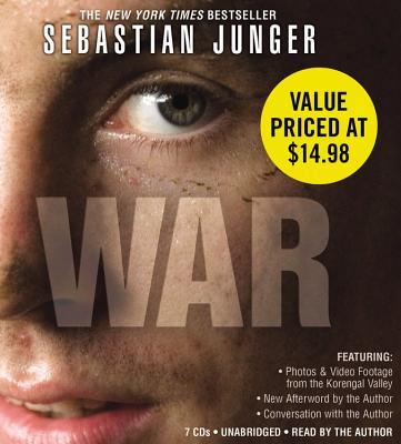 [CD] War By Junger, Sebastian/ Junger, Sebastian (NRT)